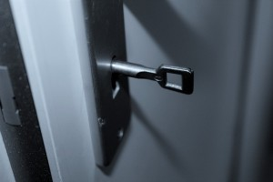 indoors door lock
