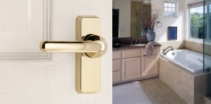 locksmith brighton stylish matte gold handle